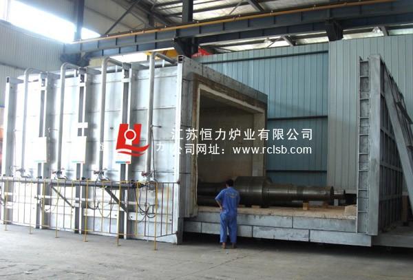 台车炉结构图,台车炉主要性能规范