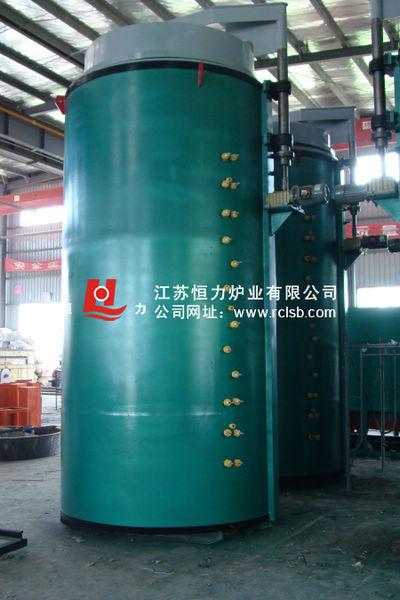 全纤维深井式电阻炉(长轴悬挂型)结构图