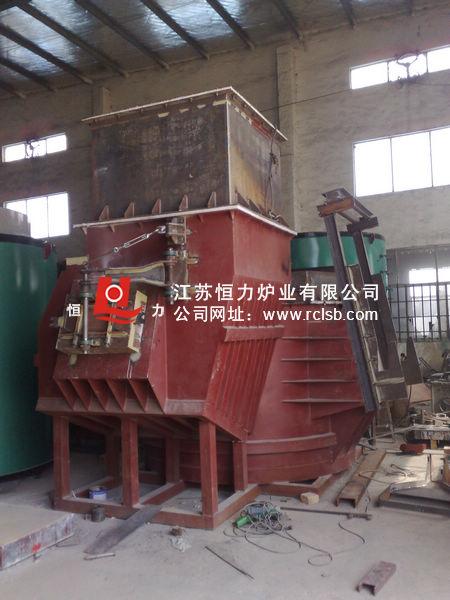 天然气连续集中熔化炉结构图