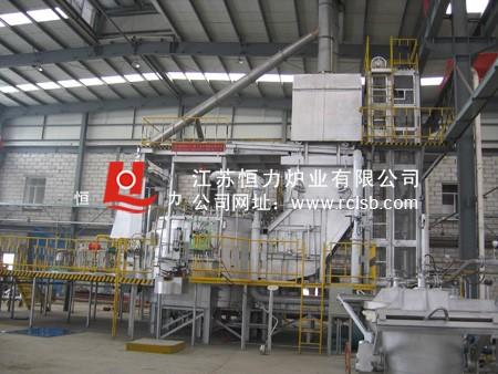 铝合金快速集中熔解炉结构图