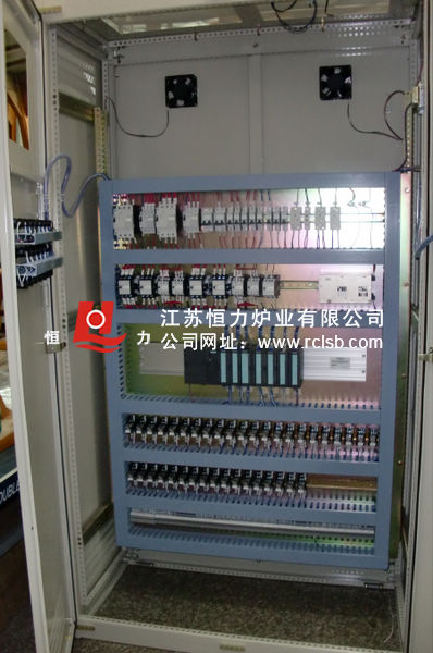 模块安装电炉控制柜结构图