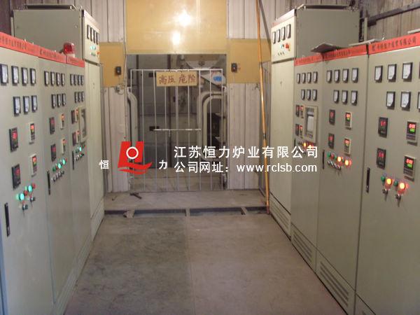 大型井式风电法兰热处理炉群控制结构图