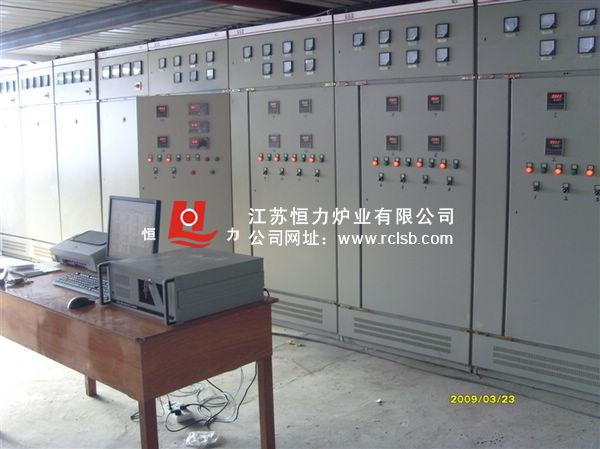 大型压力容器台车炉