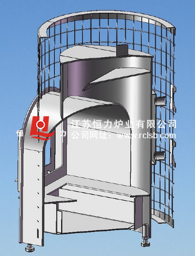 碳加热炉结构图