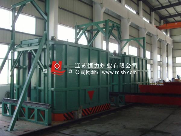 罩式快速淬火电阻炉结构图
